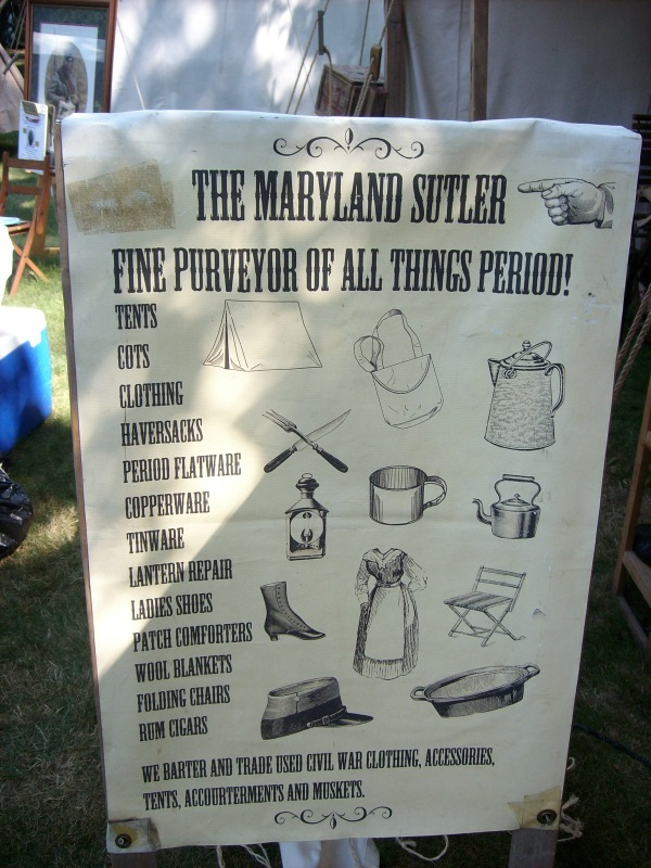 Maryland Sutler