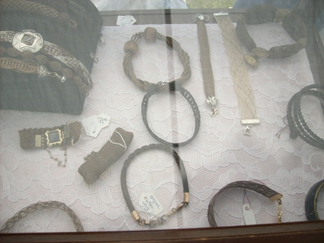 Victorian Hair Jewelry
