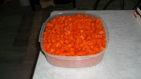carrots for dehydrating