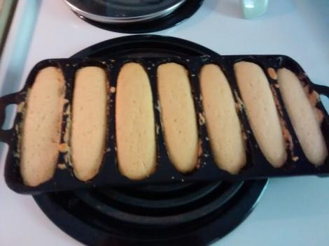 corn bread sticks